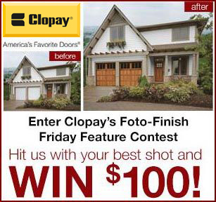 Enter Clopay's Foto-Finish Friday contest