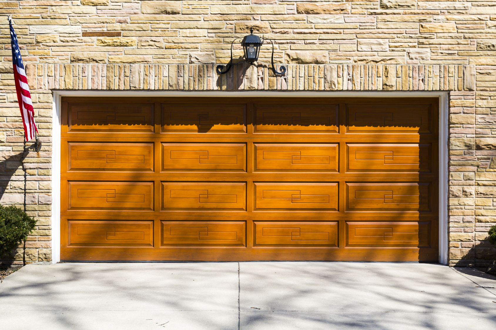 Traditional Vs Modern Wooden Garage Doors Kingwood Tx